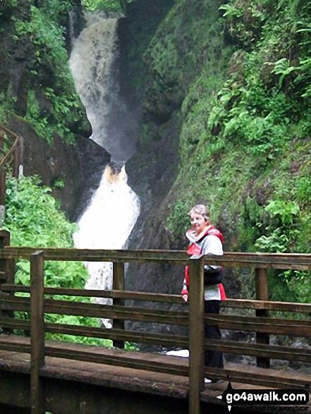 Ess-na-Larach Waterfall, Glenariff Forest Park
