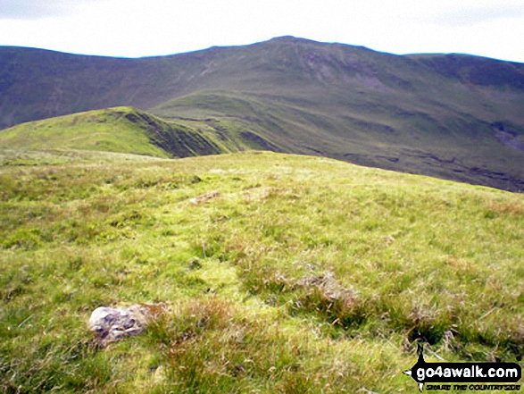 Walk Godor (North Top) walking UK Mountains in The Berwyns Snowdonia National Park*<br> Powys    Wales