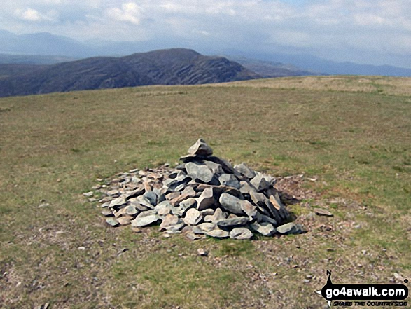 The summit of Y Llethr,  the highest point in The RhinogsSnowdonia National Park Photo: John Greaves
