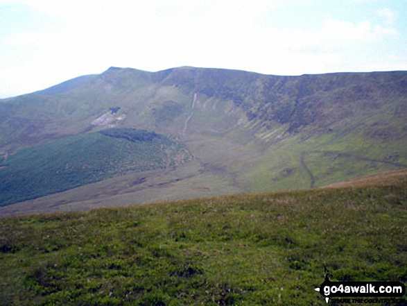 Cadair Berwyn from the summit of Tomle