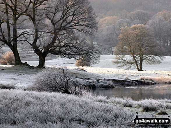 February frosts around Elterwater