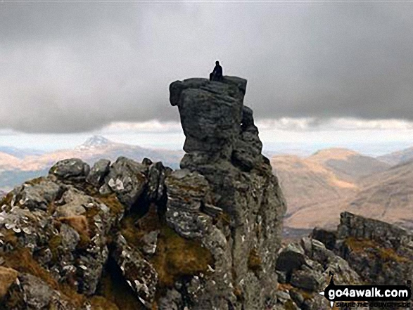 On top of The Cobbler (Ben Arthur)