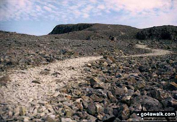 Climbing Ben Nevis from Achintee