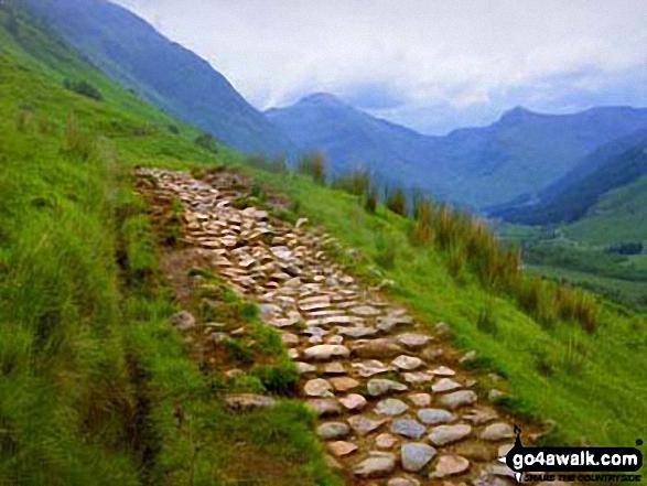 Glen Nevis from the Ben Nevis Tourist Path