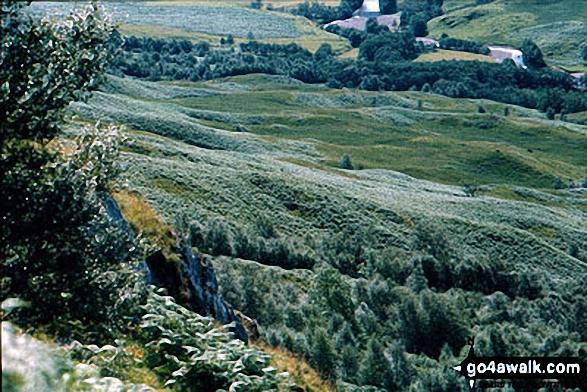 Lower slopes of Ben Nevis