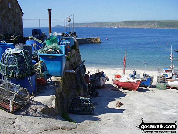Fishing Boats in Sennen Cove,<br>The South West Coast Path