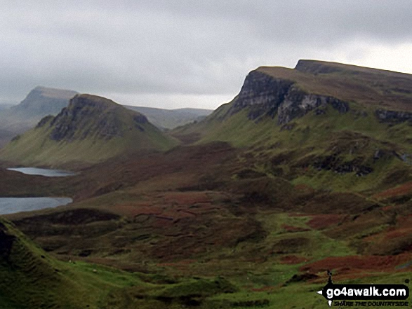 Looking South along the Trotternish Ridge from near the Quiraing