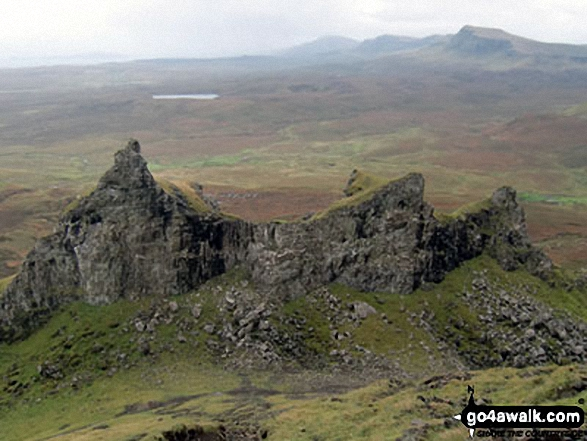 The Prison taken from the base of the Needle at the Quiraing on Trotternish