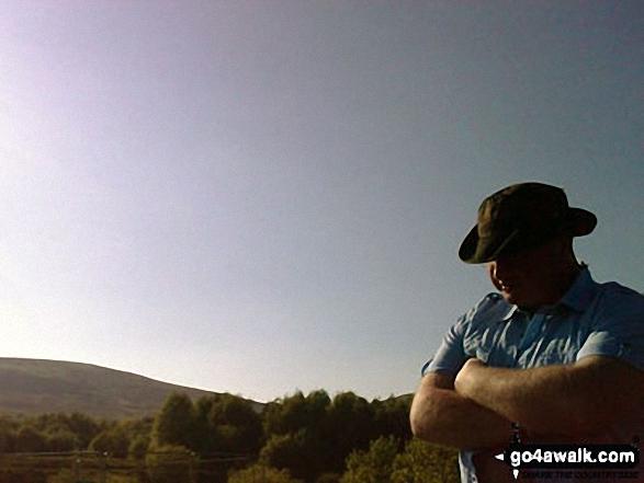 Sunshine at Watergrove Reservoir near Wardle