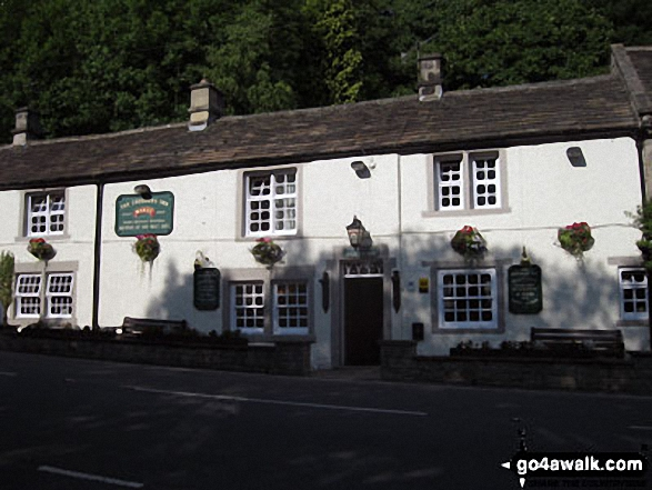 The Chequers Inn on the A625 bewteen Froggatt and Curbar