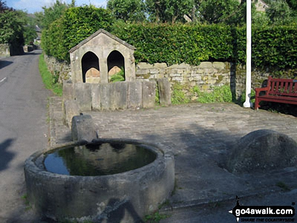 The well in the Curbar Village