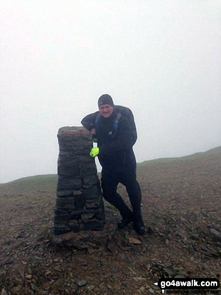 Me on Helvellyn Summit