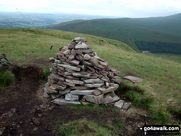 Fan Fawr summit cairn
