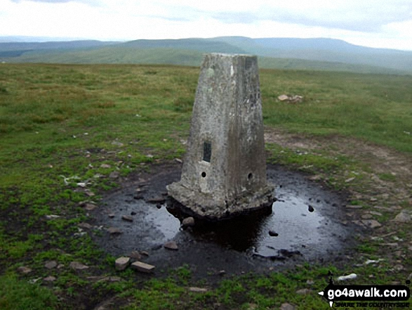 Fan Fawr trig point