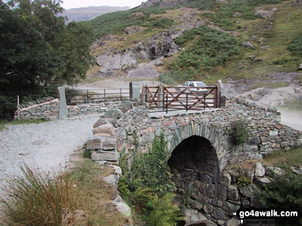 Miners Bridge over Church Beck