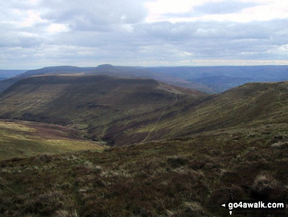 Walk Pen Allt-mawr walking UK Mountains in The Black Mountains The Brecon Beacons National Park Powys    Wales