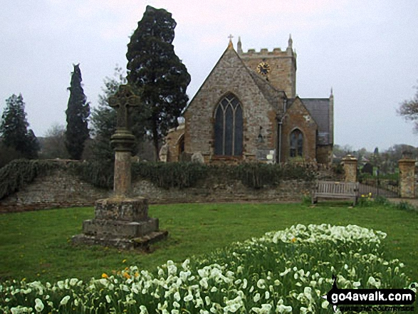 Walk no134 Hardwick from Sywell - Sywell Church