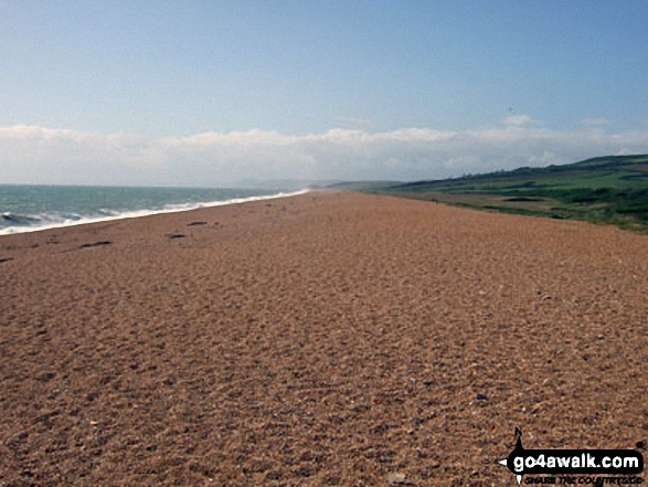 Chesil Beach at West Bexington