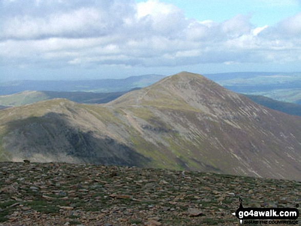 Grisedale Pike and Hopegill Head from Crag Hill (Eel Crag)