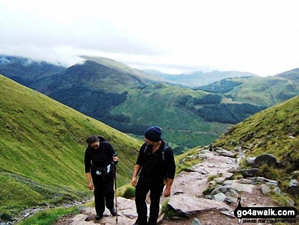 on Ben Nevis walk Scotland Highland Scotland walks
