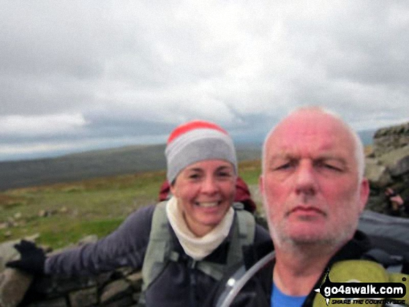 Me and my mate Mike on Whernside