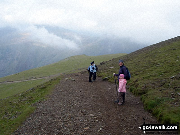 Climbing Mount Snowdon. Walk route map gw186 Snowdon and Moel Cynghorion from Llanberis photo
