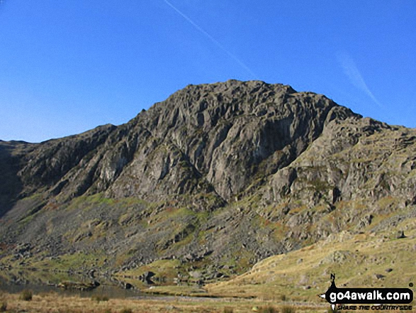 Walk Pavey Ark walking UK Mountains in The Central Fells The Lake District National Park Cumbria    England
