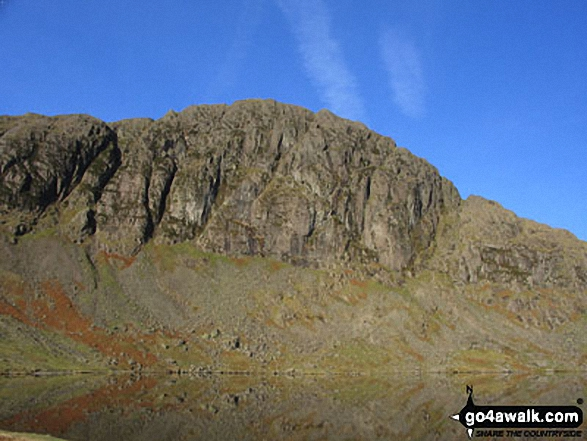 Pavey Ark and Stickle Tarn, The Langdale Pikes