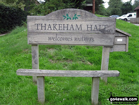 Thakeham Halt Welcomes Walkers