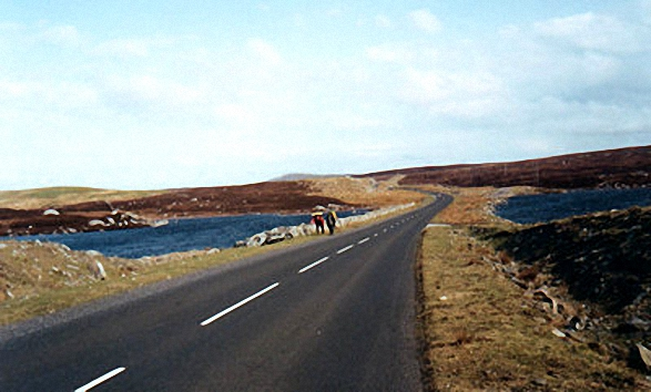 The Road on South Uist