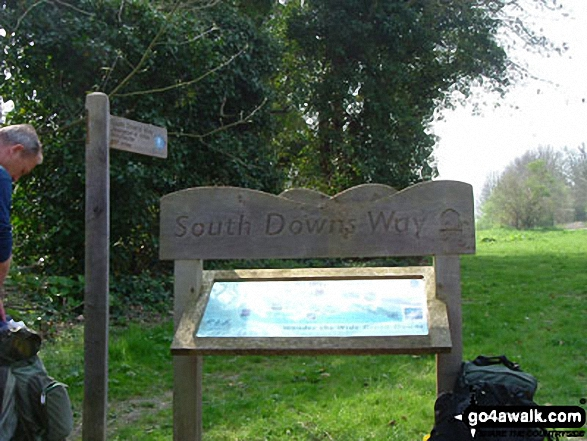 The South Downs Way in East Sussex