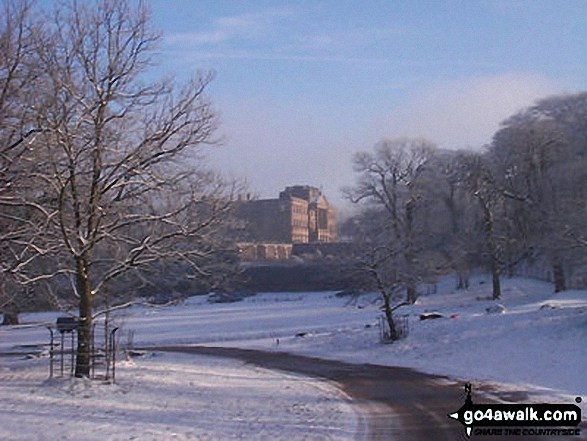 Lyme Park in Winter