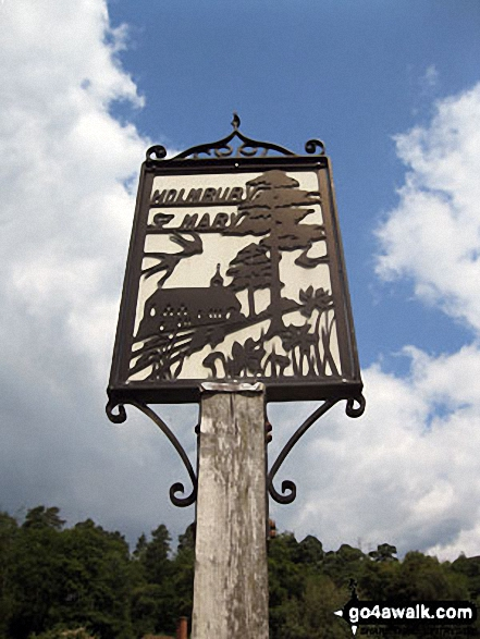 Holmbury St Mary village sign