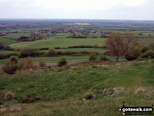 Piddington and The Oxfordshire Countryside from Muswell Hill
