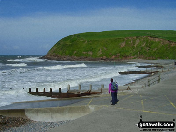 The Irish Sea and South Head, St Bees