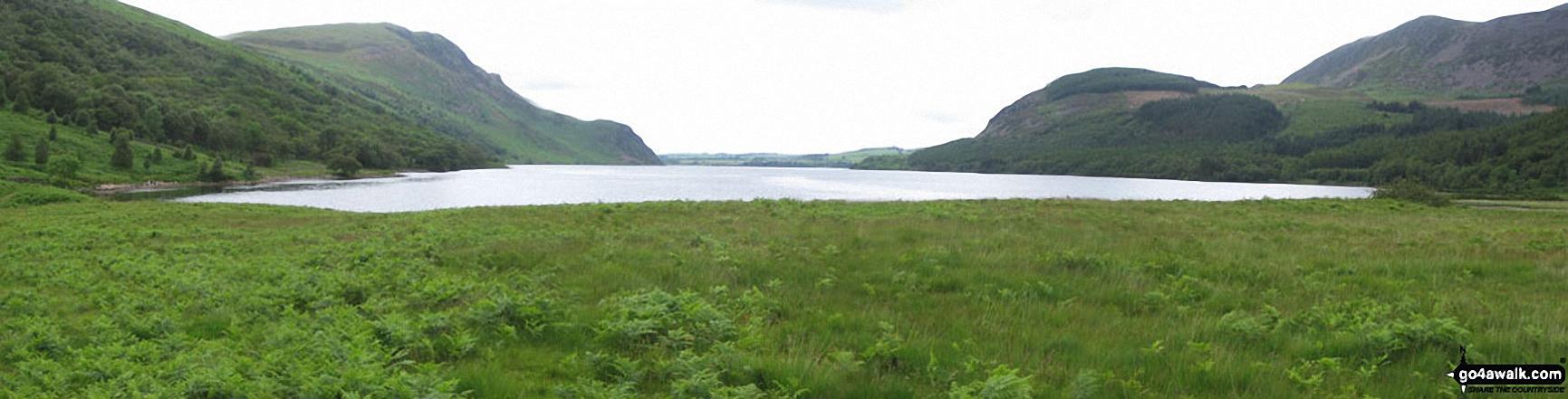 *Angler's Crag across Ennerdale Water