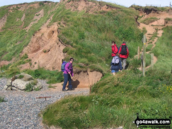 The first climb up South Head, St Bees