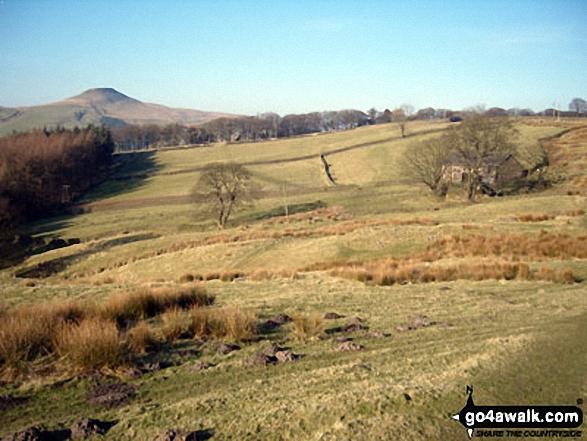 Shutlingsloe from near Three Shire Heads