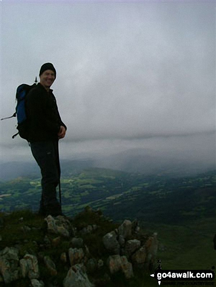 Andy Jones on Cadair Idris