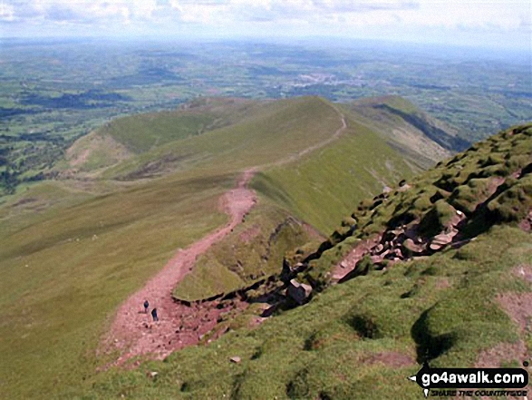 Craig Cwm Sere from Pen y Fan