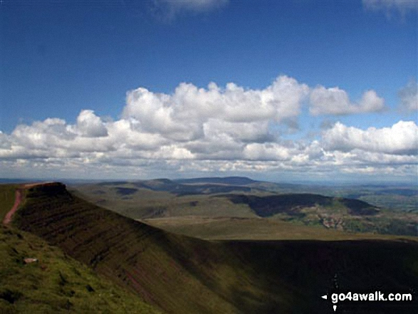View from Pen y Fan