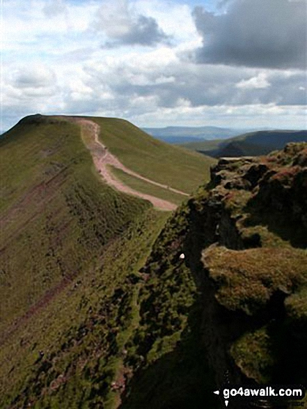 Corn Du from Pen y Fan