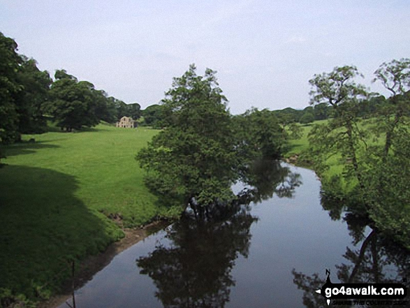 The River Derwent in Chatsworth Park