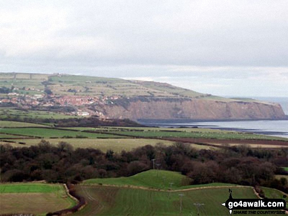 Robin Hood's Bay from The Cleveland Way