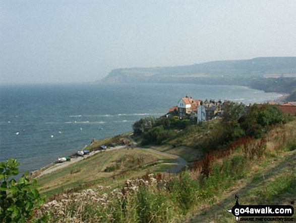 Robin Hood's Bay and Ravenscar from The Cleveland Way