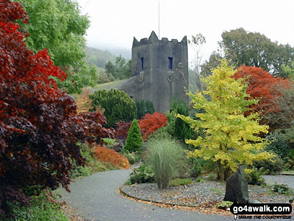 Walk Picture/View: Autumn in Grasmere Village in The Central Fells, The Lake District, Cumbria, England by Linda Royston (1)