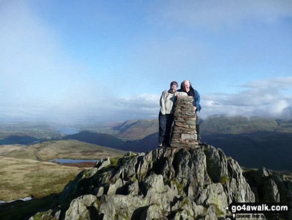 Walk c304 Beda Head and Place Fell from Howtown - On Place Fell