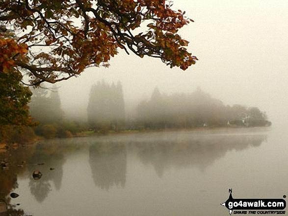 Walk c420 The Coniston Fells from Walna Scar Road, Coniston - Lake Coniston