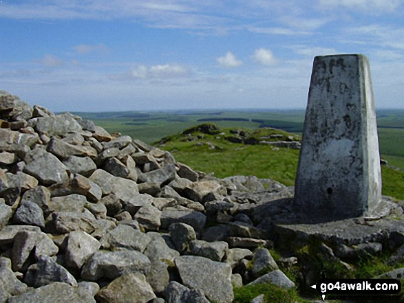 Brown Willy Summit Trig Point