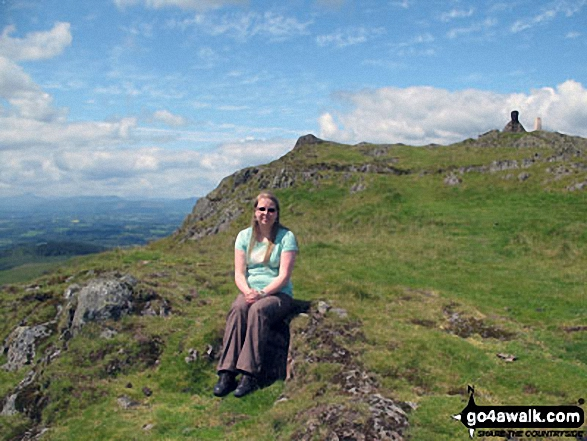 On Dumyat in the Ochils near Stirling